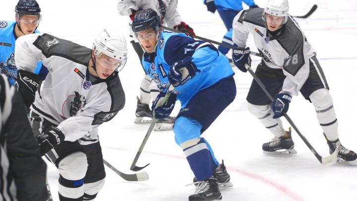 Хоккей: «Тюменский Легион» взял реванш в матче с «Сибирскими Снайперами»