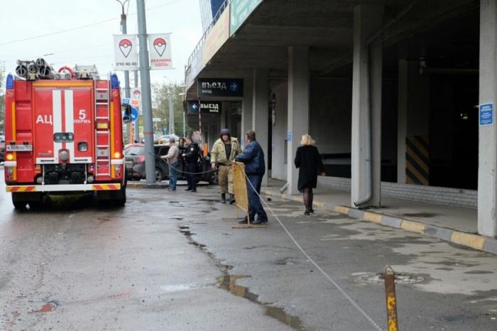 Эвакуация в Перми. Фото 59.ru