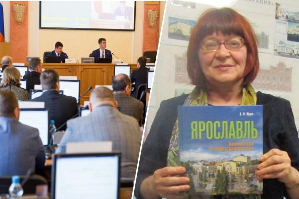Депутаты отказали в грамоте градозащитнице