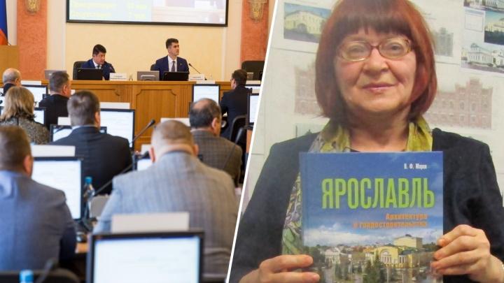 Сами себя награждают постоянно: депутаты отказали в грамоте ярославской градозащитнице