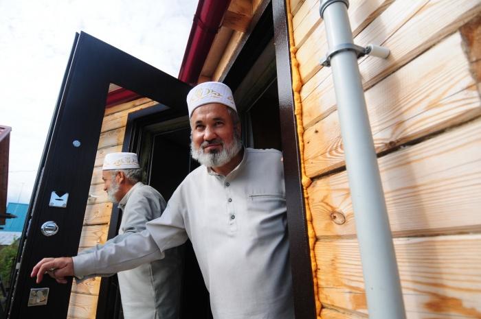 Навиль Шагабутдинов —имам в мечети деревни Юрт-Ора