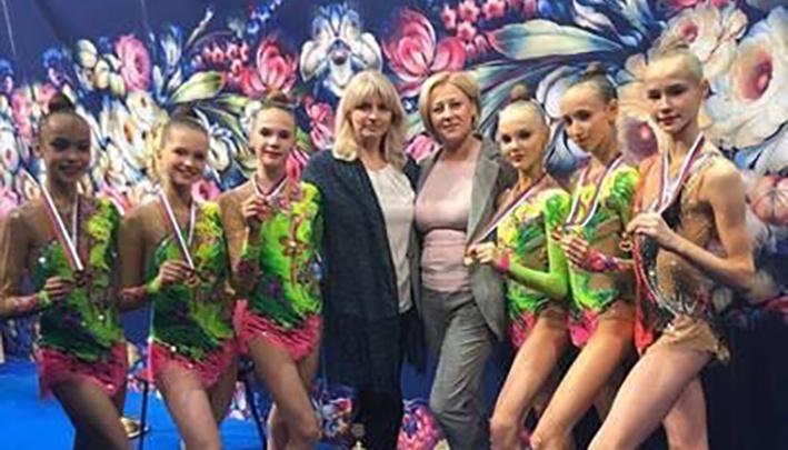 Нижегородки завоевали медали на первенстве России по художественной гимнастике