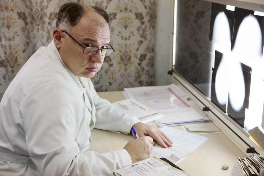 Заведующий рентгеновским отделением Ордынской ЦРБ, врач-рентгенолог Владимир Журавлев