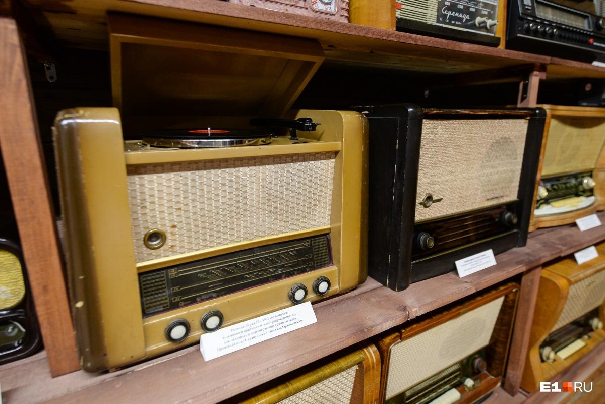 Радиоприемники, проигрыватели