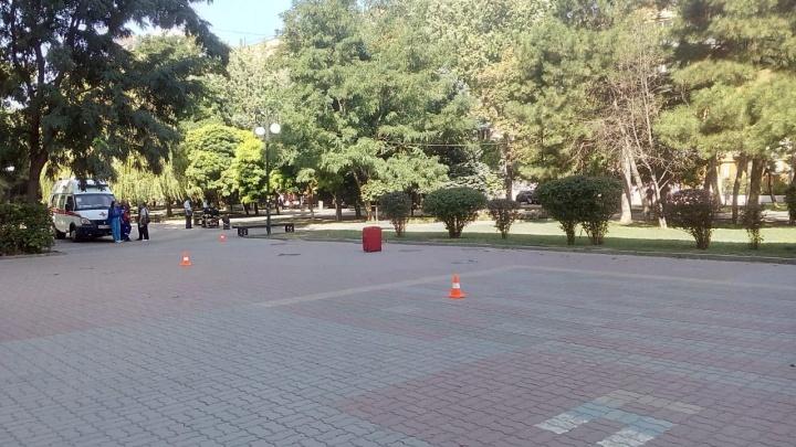 В Ростове улицу Пушкинскую возле ЮФУ оцепили из-за подозрительного чемодана