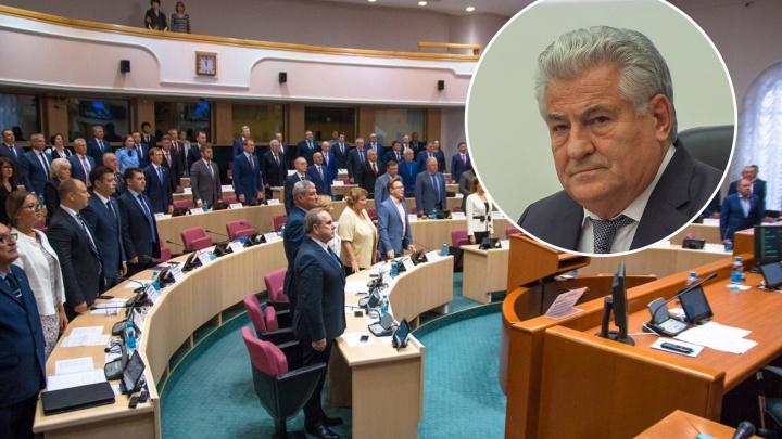 «Стыдища была! Со всех объяснительные»: депутаты губдумы получили нагоняй от спикера за прогулы