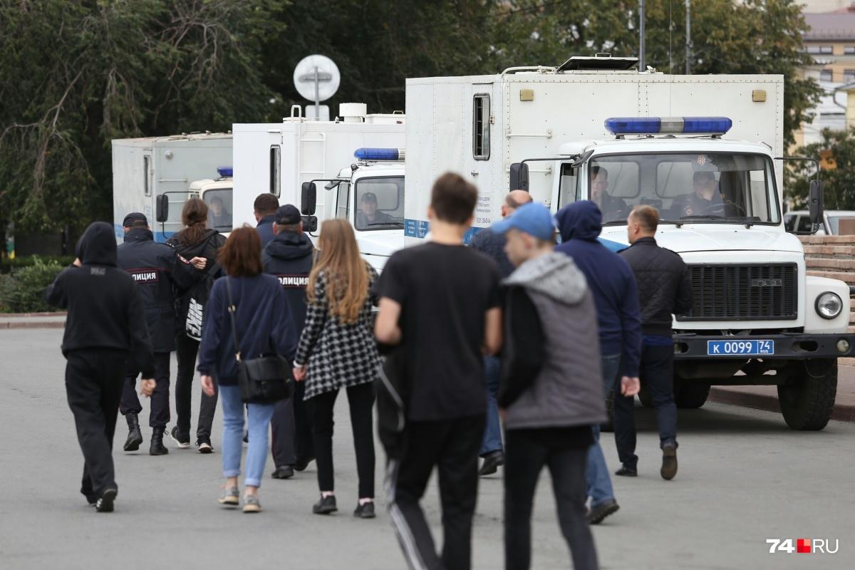 Несанкционированный митинг прошёл на Кировке 9 сентября