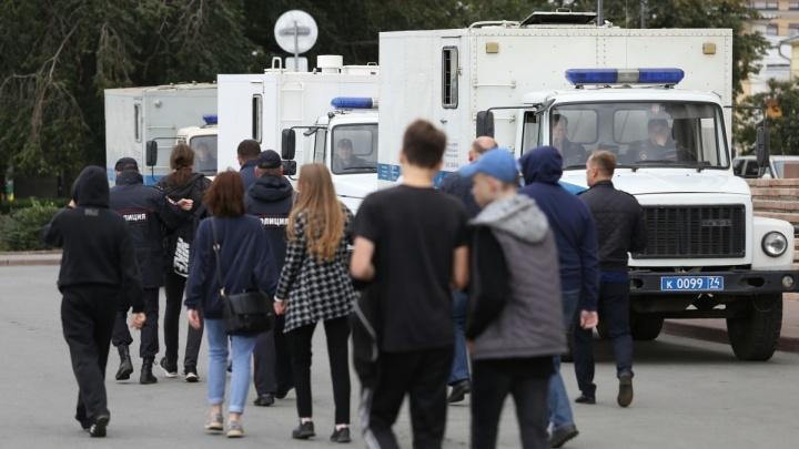 Участника митинга против пенсионной реформы в Челябинске оштрафовали за пропаганду нацизма