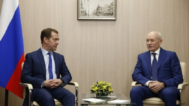 Глава Башкирии обсудил с Дмитрием Медведевым проект Восточного выезда из Уфы