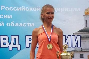 Елена Мамаева на соревнованиях во Владимире