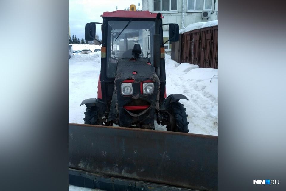 Трактор-улыбака