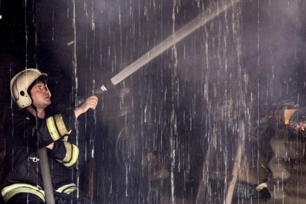 Пожарным удалось быстро локализовать огонь