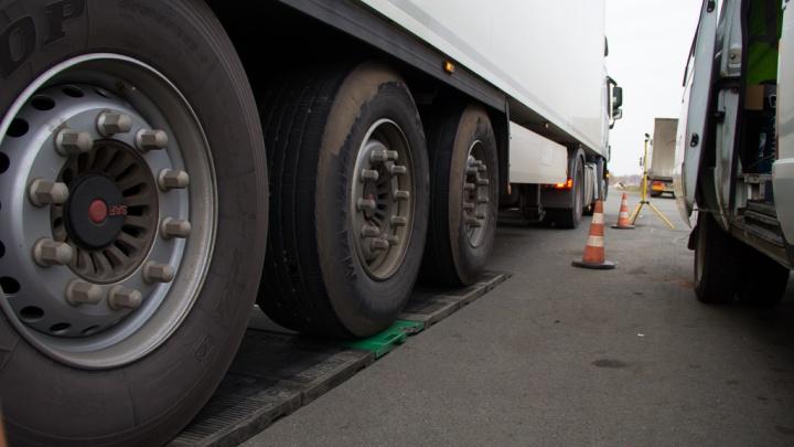 ГИБДД запретила въезд большегрузов в Челябинск из-за надвигающейся непогоды