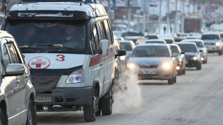 Новосибирец умер на тротуаре в центре города