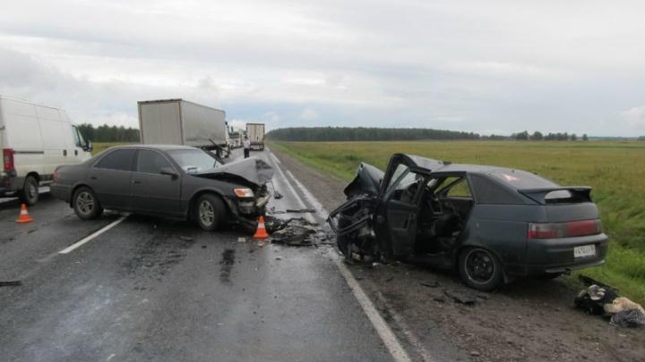 Молодая сибирячка устроила ДТП на трассе: пять человек пострадали