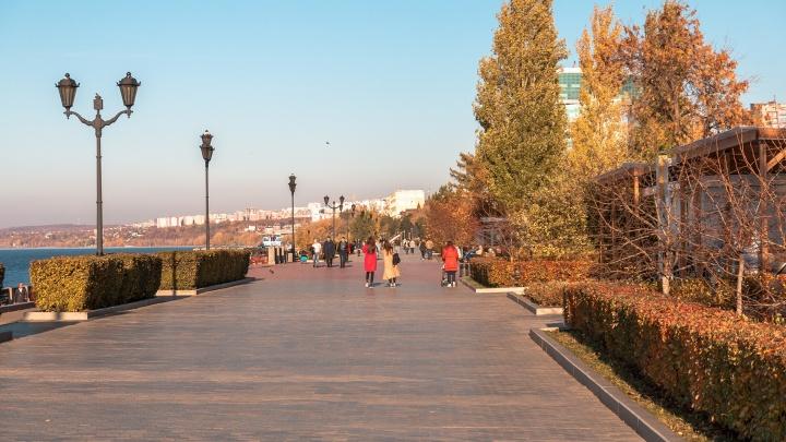 Жаркий рекорд октября: в Самарской области температура воздуха превысила 22 градуса