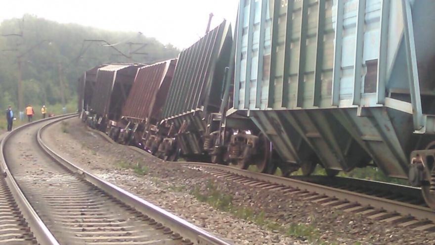 «Движение не прерывается»: в Прикамье восстанавливают железную дорогу, поврежденную из-за ливней