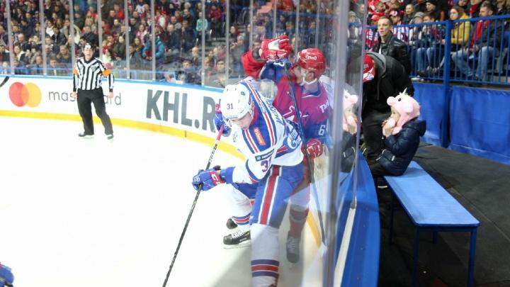 В шаге от вылета из плей-офф: «Локомотив» уступил СКА