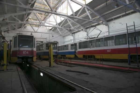Трамваи могут остаться в депо