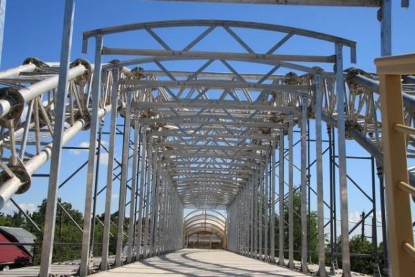 Первый в России алюминиевый мост был установлен в Нижегородской области