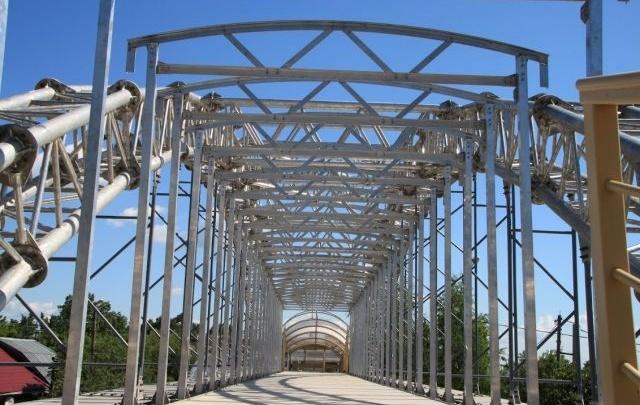 Проекты алюминиевых пешеходных мостов для Красноярска отправлены на экспертизу