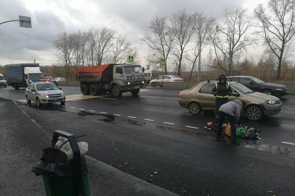 ДТП произошло на недавно отремонтированной дороге со свежей разметкой