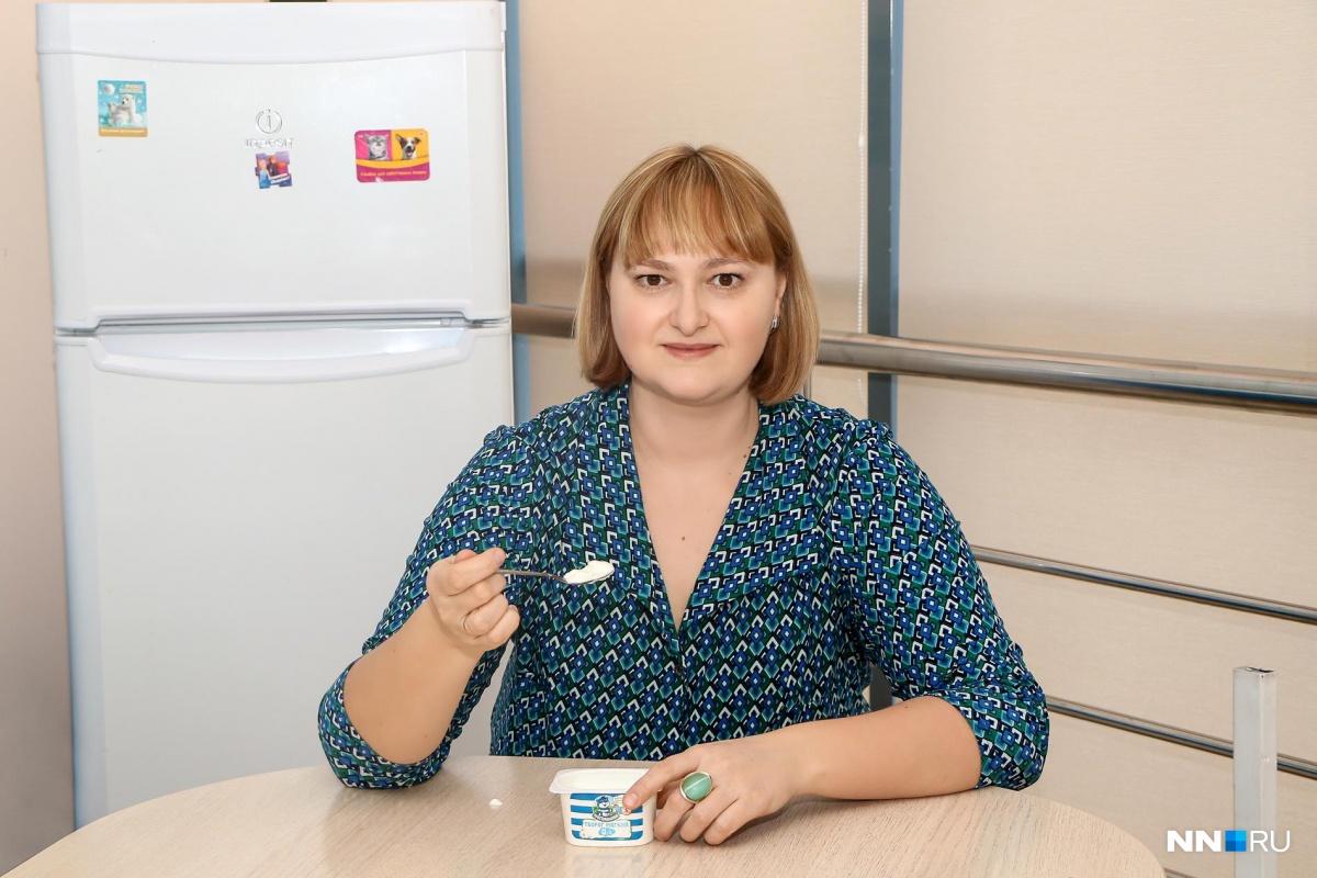 Ксения Нестерова продолжает борьбу с лишним весом