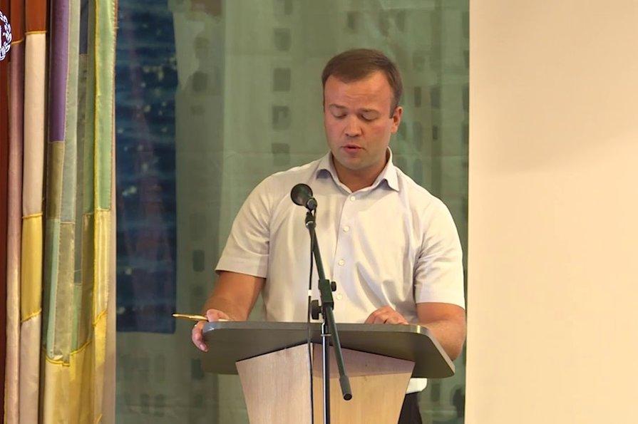 Министр строительства Республики Крым Михаил Храмов