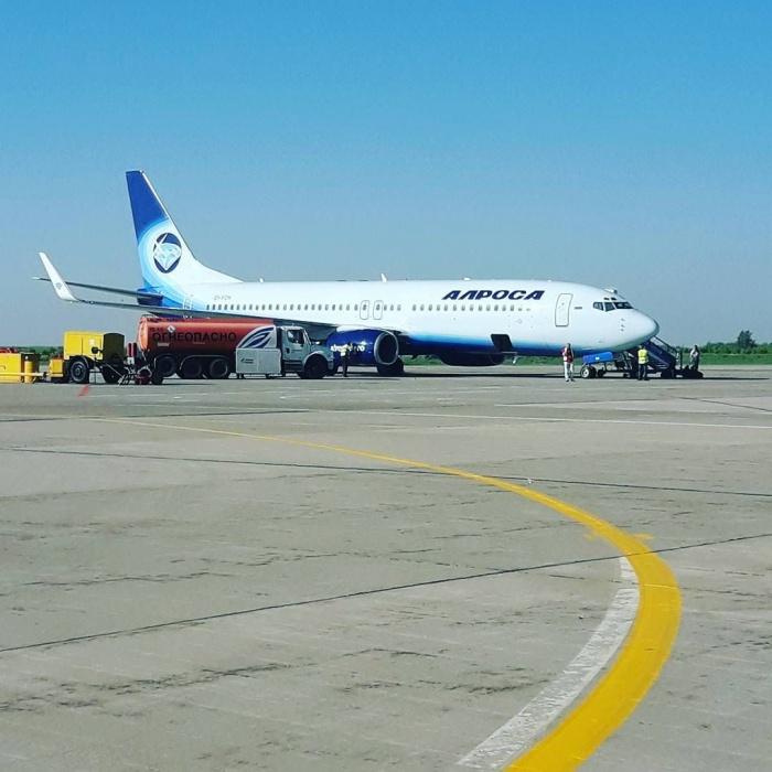 Из кемеровского аэропорта запустили рейсы до южных курортов России (фото)