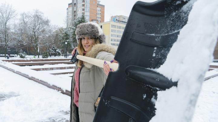 Лопата в тренде: считаем, сколько людей нужно, чтобы очистить Ростов от снега за 5 минут