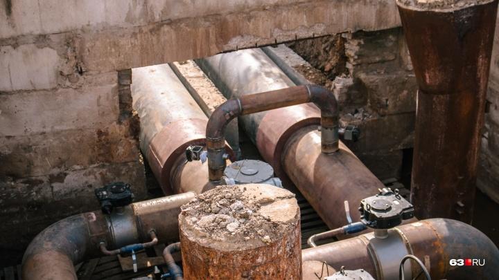 В Самаре незаконный пристрой перекрыл доступ к аварийным трубам