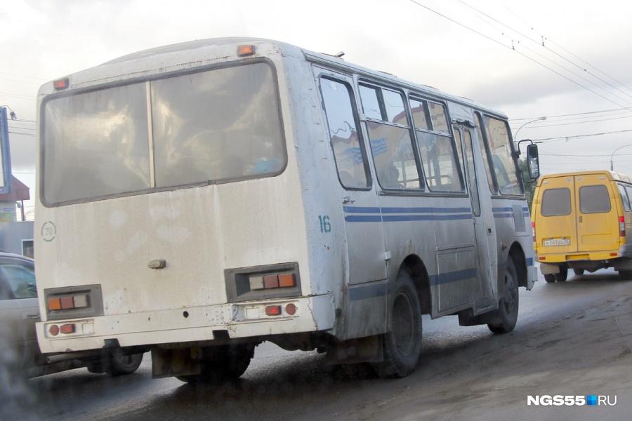 ВОмске упарка 30-летия ВЛКСМ 73-й автобус сбил девушку