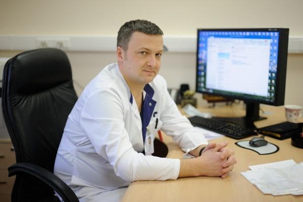 Сергей Ярмощук стал одним из лучших онкологов России