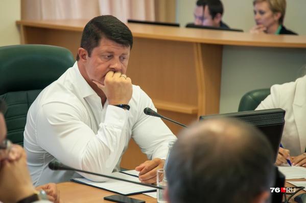 Мэр Ярославля переводится на работу в Московскую область