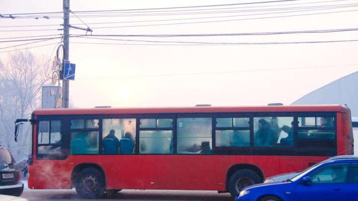 Чиновники высчитали, когда автобусы по Красноярску будут ездить быстрее