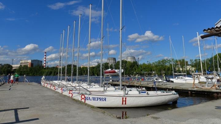 Яхт-клуб запретил горожанам фотографировать Визовский пруд