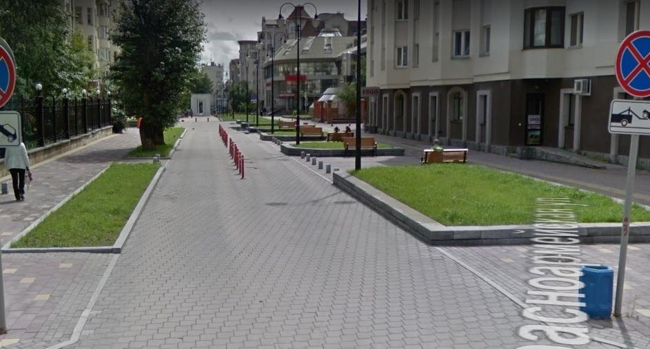 Такой пример есть на улице Красноармейской