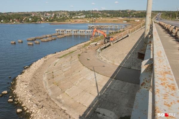 Один из объектов, который по конкурсу выиграло АО «СтройТрансГаз», — новый мост через Чусовую
