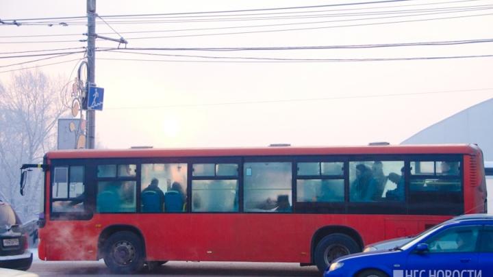 В Красноярске резко выросли выбросы автотранспорта, несмотря на все разговоры чиновников