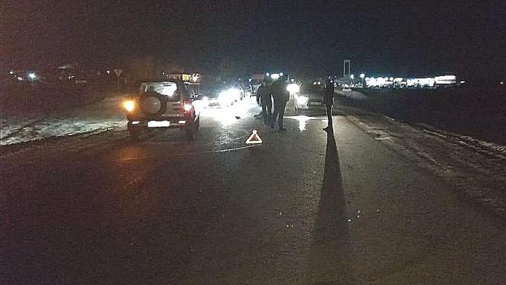 Под Уфой водитель на Mitsubishi сбил насмерть мужчину