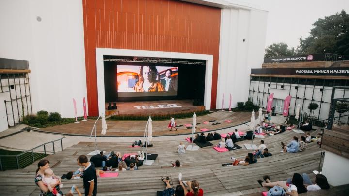 Искусство под звездами: в Ростове заработал бесплатный кинотеатр под открытым небом