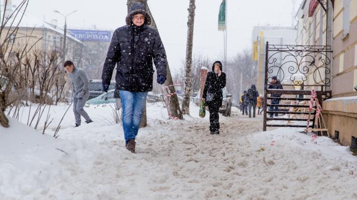 За день выпадет 10 сантиметров снега: спасатели выпустили экстренное предупреждение