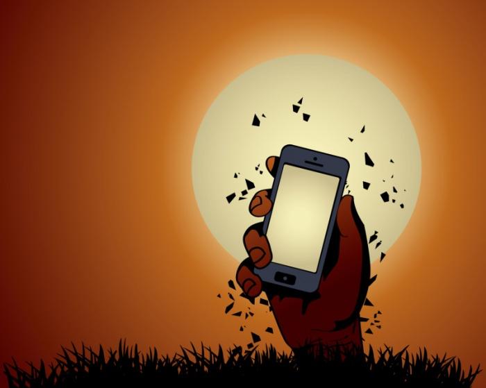 Сервисный центр научился оживлять смартфоны