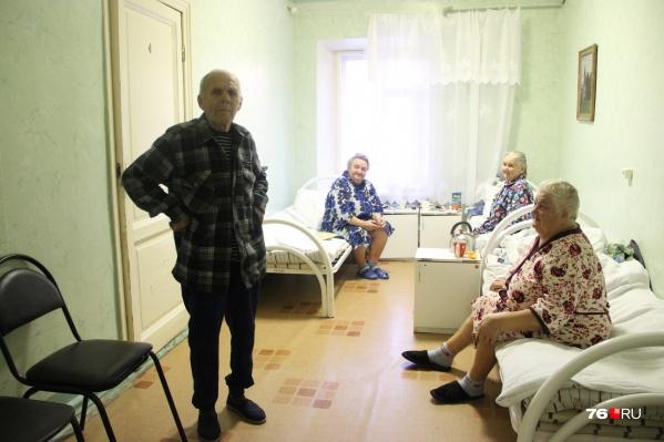 Отделение не пустует никогда — здесь всегда есть пациенты