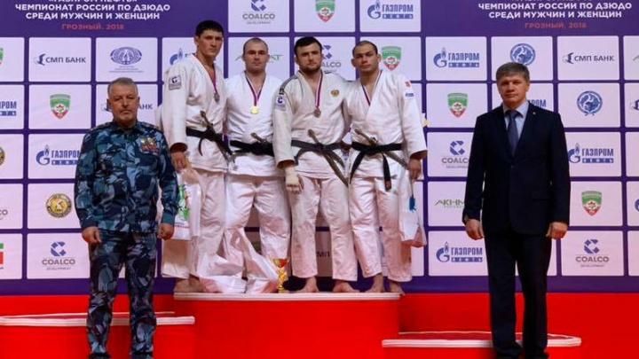 «Красиво бросил через грудь»: челябинцы завоевали медали на чемпионате России по дзюдо в Грозном
