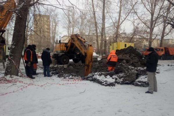110 домов на правом берегу Красноярска остались без холодной воды