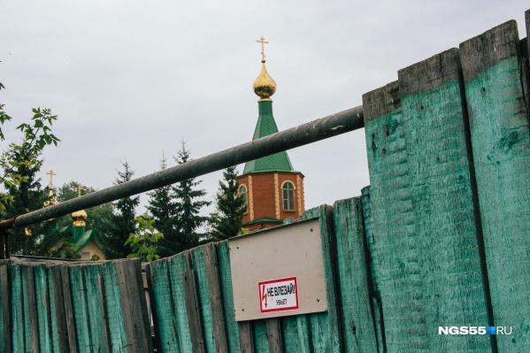 Храм Всех святых сибирских— один из символов Захламино