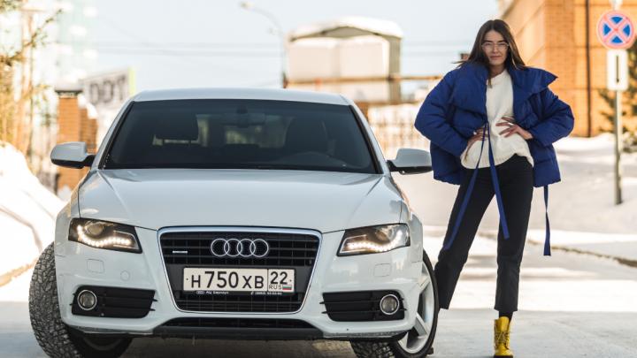 Девушка месяца: стильная Женя занимается финансами и ездит на Audi A4