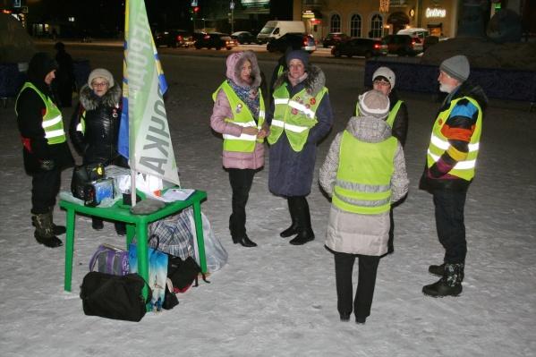 Активисты также с 17 января начали сбор подписей на «ЭкоБессрочке» под обращением в защиту телеканала