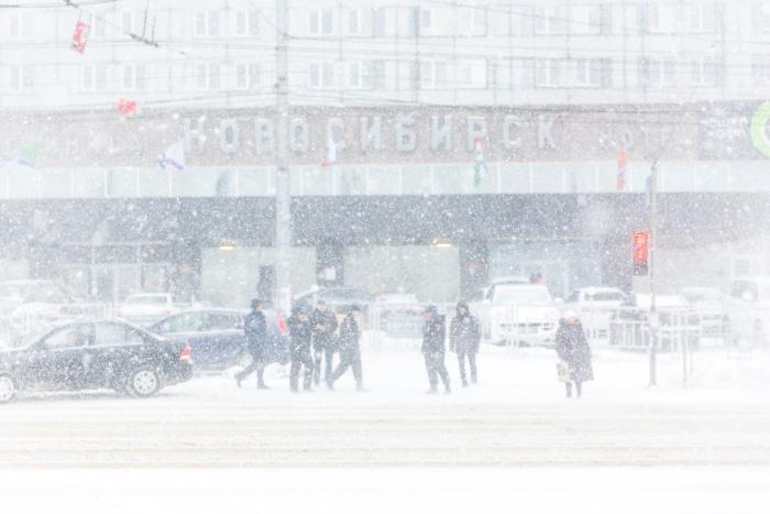 Снегопады задержатся в Новосибирске на три дня